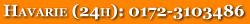 Havarie (24H): 0172-3103486